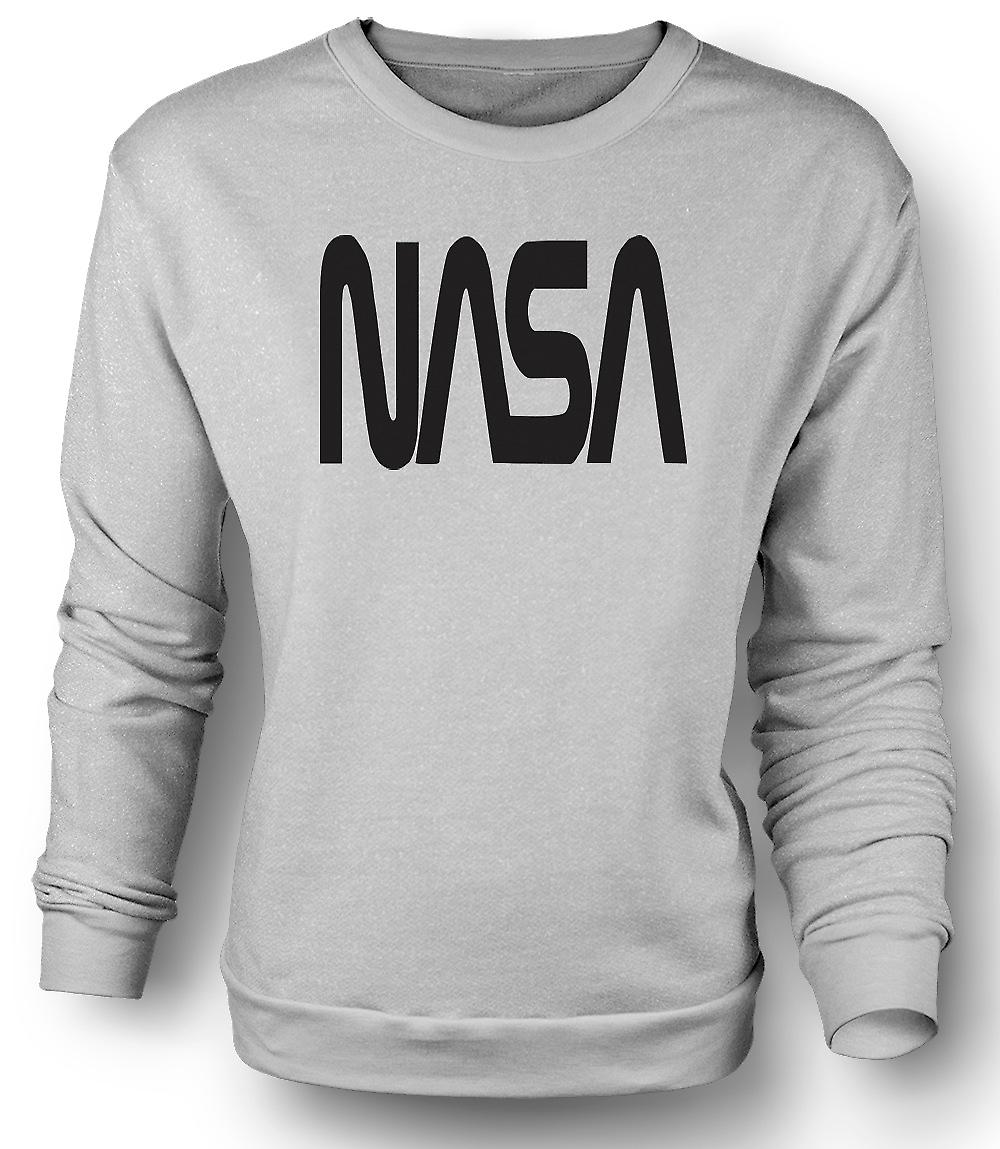 Mens Sweatshirt NASA - Logo Space