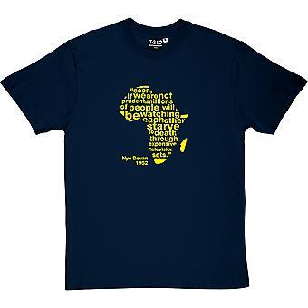 Nye Bevan teuren Fernseher zitieren Herren T-Shirt