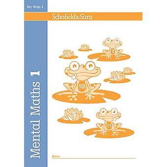 Mental Maths Book 1 by Sally Johnson - 9780721709628 Book