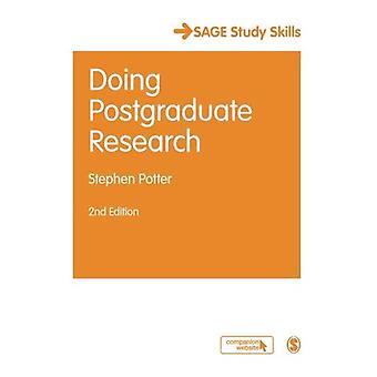 Robiąc badania podyplomowe (Opublikowano w skojarzeniu z The Open University)
