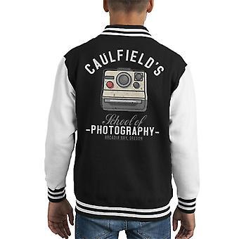 Academies leven Is vreemd Max Caulfields fotografie Kid's Varsity Jacket