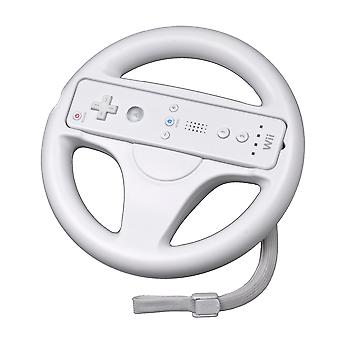 Racing wiel voor Wii/Wii U-wit