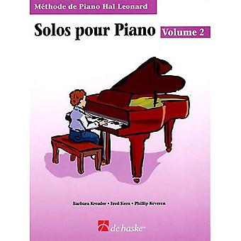 Piano Solos Book 2 - French Edition: Hal Leonard� Student Piano Library