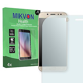 Samsung Galaxy J7 (2017) Screen Protector - Mikvon Health (Retail Package with accessories) (reduced foil)