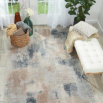 Texturas rústicas RUS02 retângulo cinza bege tapetes tapetes modernos