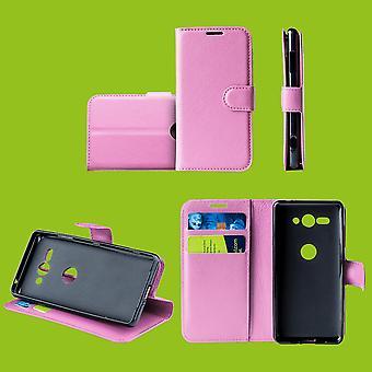 For Samsung Galaxy S10 G973F 6.1 tommen lomme lommebok skinn rosa Schutz ermet coveret pose nytt tilbehør