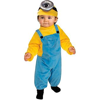 Minion Stuart Toddler kostuum