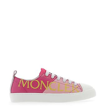 Moncler Fuchsia/pink Leather Sneakers