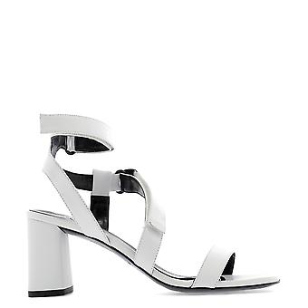 Kendall + Kylie White Leather Sandals
