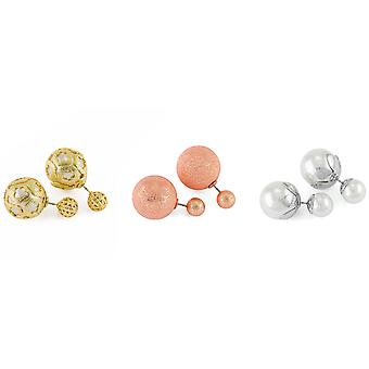 Pierre Cardin 3 Pack ladies earrings multicolor gift set