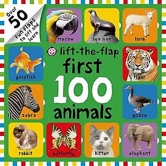 First 100 Animals Lift-The-Flap by Roger Priddy - Nicola Friggens - 9