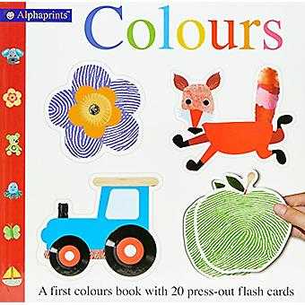 Alphaprint Colours Flashcard Book by Roger Priddy - 9781783416455 Book