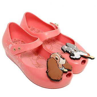 Melissa Shoes Mini Lady And The Tramp Shoes, Pink
