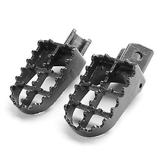 MX Foot Pegs Motocross Dirt Bike Footrests L & R For 1991-1999 Yamaha PW80