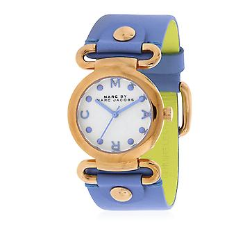 Marc by Marc Jacobs Molly piccolo fiume in pelle Ladies Watch MBM1307
