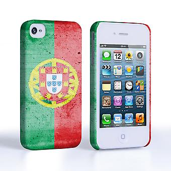 Caseflex iPhone 4 4S Retro Portugal Flag Case