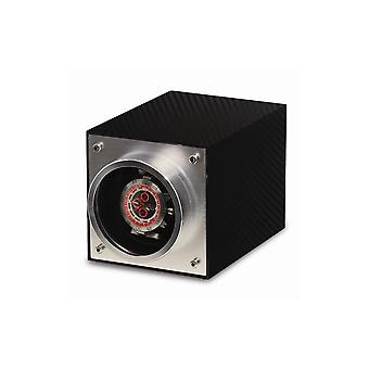 Rotations Carbon Fiber Finish & Aluminum 1-watch Winder