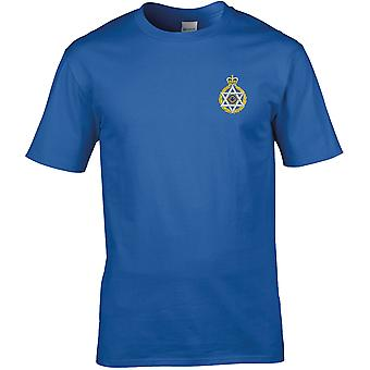 Royal Army Chaplains Department-Joodse-gelicentieerde Britse leger geborduurd premie T-shirt