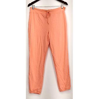 xhilaration Lounge Pants Knit Pull On Orange Womens