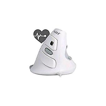 Adj shark wh 600 mouse gaming vertical optical 2000 dpi usb heartbeat control white