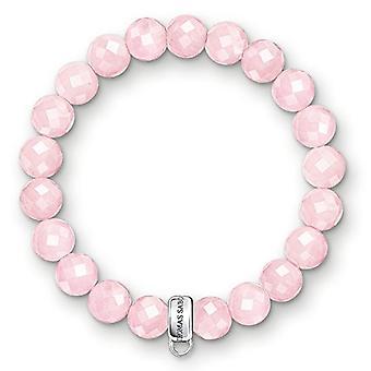 Thomas Sabo Bracelet with Silver Woman Charm - X0191-034-9-L14.5