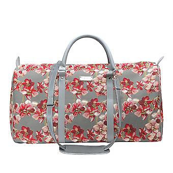 Orchid weekend travel holdall by signare tapestry / bhold-orc
