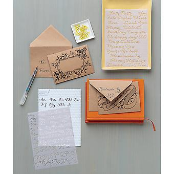 Calligraphy Hand Lettering Kit-   M4301004
