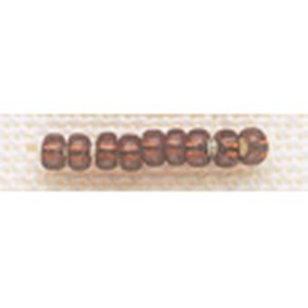 Mill Hill Glass Beads Size 8 0 3Mm 6.0 Grams Pkg Opal Dark Mauve Gbd8 18821