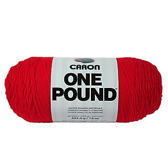 Caron One Pound Yarn Scarlet 294010 10516