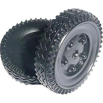 Workplace training material - Plastic tyre Modelcraft (Ø) 24 mm