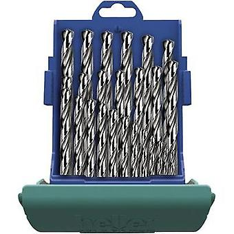 HSS Metal twist drill bit set 19-piece Heller 219