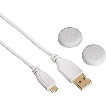 USB 2.0 [1x USB 2.0 connector A - 1x USB 2.0 connector Micro B] 3 m White gold plated connectors Hama
