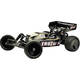 Team C TR0 2V2 Brushed 1:10 RC model car Electric Buggy RWD RtR 2,4 GHz
