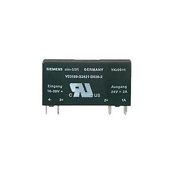 SSR 1 pc(s) Weidmüller SSS Relais 24V/24V 0,1Adc Current load (max.): 10