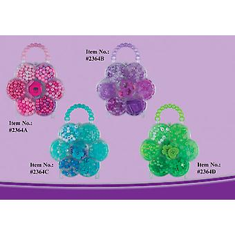 Cladellas  Bolsito Transp. beads (Toys , Home And Professions , Makeup And Accessoiries)