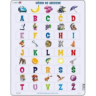 Larsen Abc-Puzzle (kids, toys, board games, Puzzles)