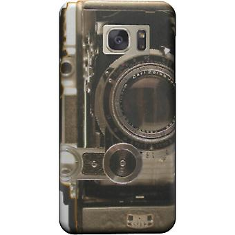 Vintage camera cover voor Galaxy S6 Edge