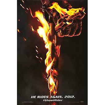 Ghost Rider geest van wraak filmposter (11 x 17)