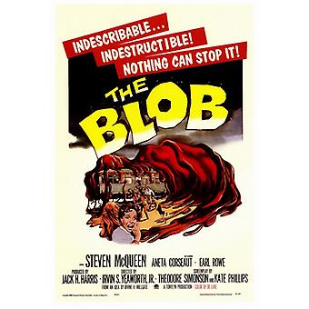 The Blob Movie Poster Print (27 x 40)