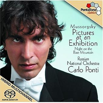 M. Mussorgsky - Mussorgsky: Pictures at an Exhibition; Night on the Bare Mountain [SACD] USA import