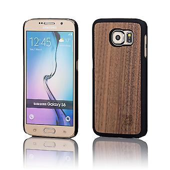 32nd Wooden Back case for Samsung Galaxy S6 (SM-G920) - Walnut