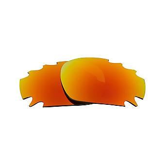 Best SEEK Polarized Replacement Lenses for Oakley VENTED JAWBONE Red Mirror