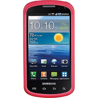 Xentris Soft Touch Hard Shell Case for Samsung Stratosphere i405 - Pink