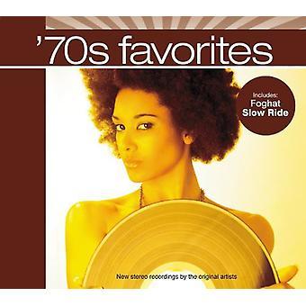 Forskellige kunstner - 70s favoritter [CD] USA importerer