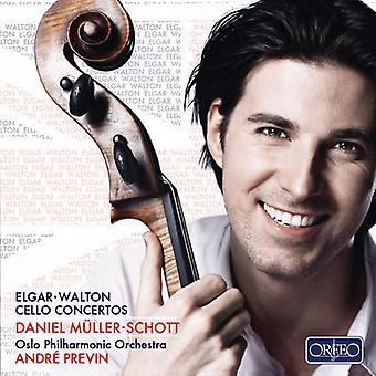 Elgar/Walton - Elgar, Walton: Cello koncerter [CD] USA import