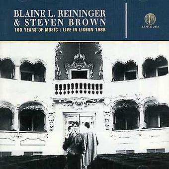Blaine Reininger & Steven Brown - Live i Lissabon 1989 [CD] USA import
