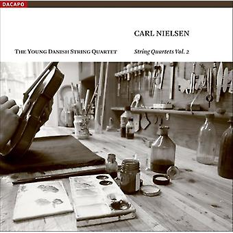 C. Nielsen - Carl Nielsen: Strygekvartetter Vol. 2 [CD] USA import
