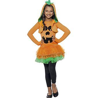 チュチュ バレエ スカート ドレスと Kapuzenj Gr. オレンジ L コスチューム パンプキン