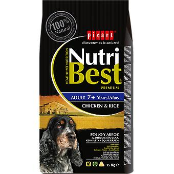 Picart Nutribest Senior Chicken and Rice (Dogs , Dog Food , Dry Food)