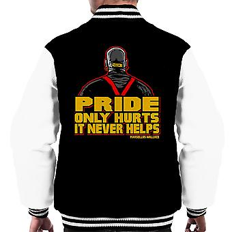 Kingpin Marsellus Wallace Pulp Fiction mænds Varsity jakke